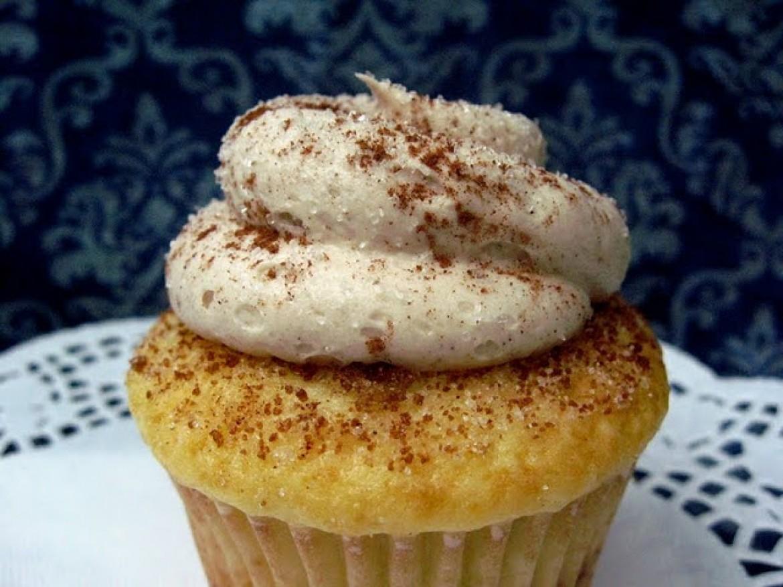 Cinnamon Swirl Cupcakes