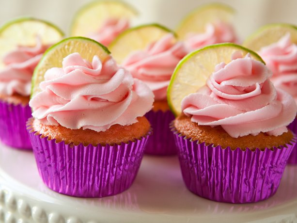 Strawberry Margarita Cupcakes