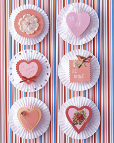 valentine cupcake decorations