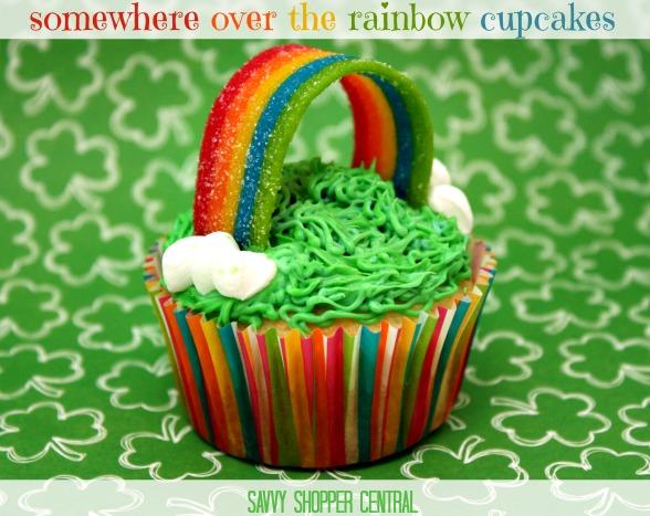 Gluten Free Rainbow Cupcakes