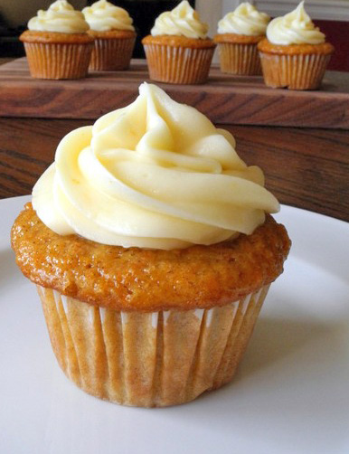 Clementine Carrot Cupcakes