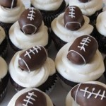 Football Cupcakes For The Superbowl