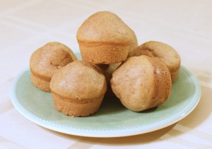 Peanut Butter Cupcakes for Dogs!