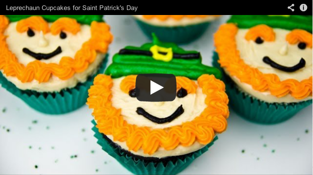 leprechaun cupcakes video