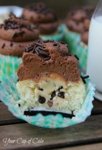 Triple Threat Cupcakes