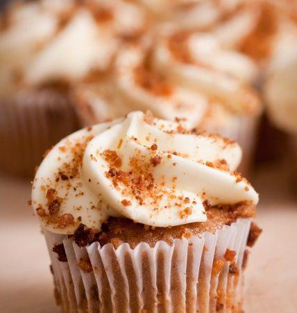 Gluten Free Carrot Nutmeg Cupcakes