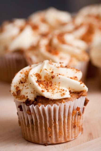 Carrot Nutmeg Cupcakes