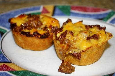 Cheeseburger Cup(cakes)!