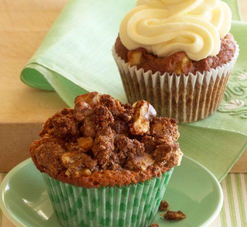 Apple Spice Cupcakes (Gluten Free)