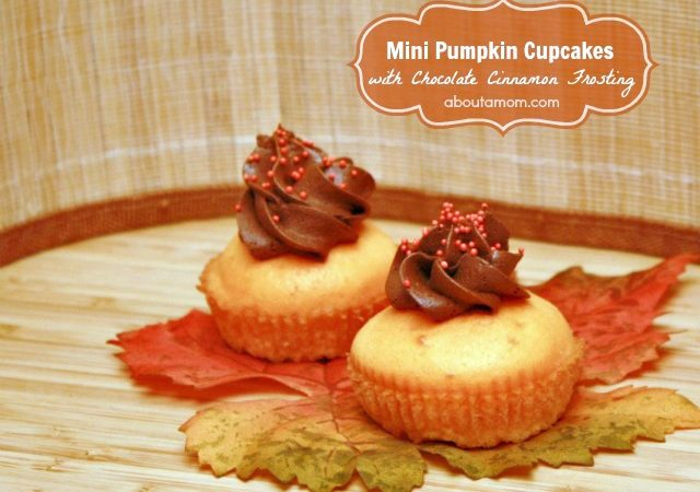 Mini Pumpkin Cupcakes