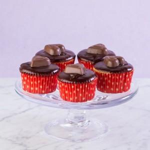 Buckeye Cupcakes (Gluten Free)