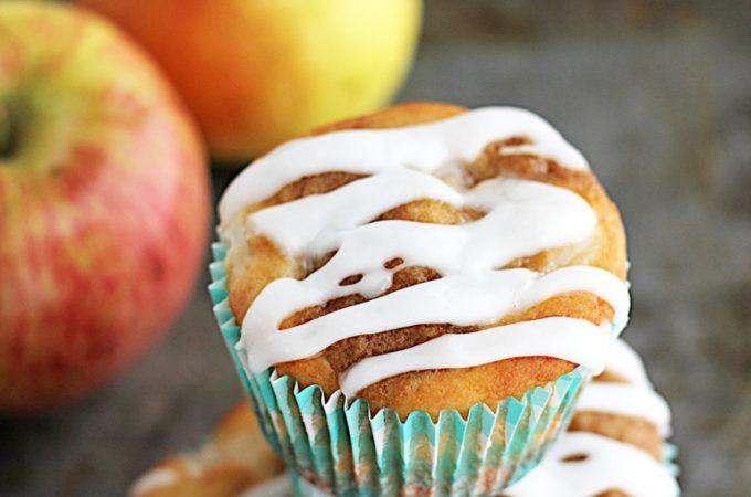 Fresh Apple Pear Cupcakes