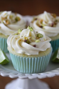 Key Lime Cupcakes with White Chocolate Frosting