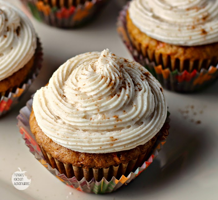 Carrot and Pineapple Cupcakes