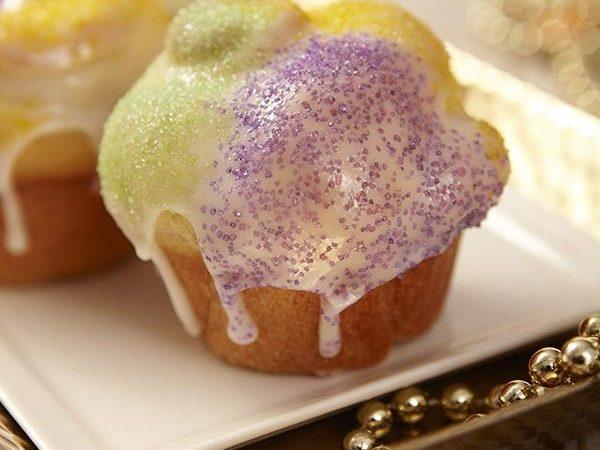 King Cake Cupcakes