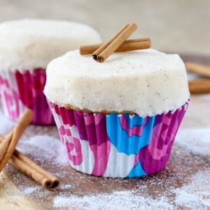 Triple Cinnamon Cupcakes