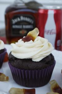 Jack & Coke Cupcakes
