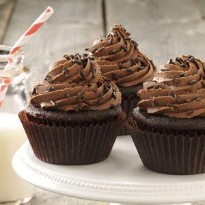 Buttermilk Chocolate Cupcakes