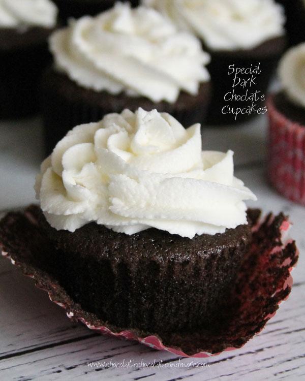 Special Dark Chocolate Cupcakes