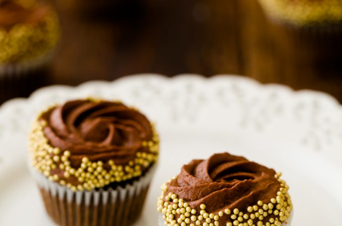 Chocolate Rum Cupcakes