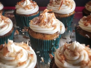Butter Rum Cupcakes